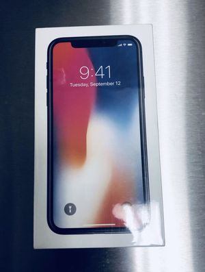 iPhone X 256GB Unlocked Space Gray Color for Sale in Herndon, VA