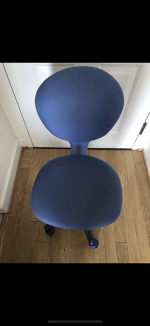 ADJUSTABLE BLUE TURNING CHAIR for Sale in Washington, DC