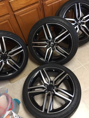 "19"" Honda Accord Sport Wheels and Tires 5x114.3 for Sale in Silver Spring, MD"
