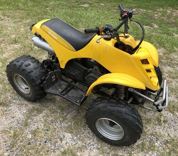 E-Ton 90 ATV Quad Four Wheeler for Sale in Lake Alfred, FL - OfferUp