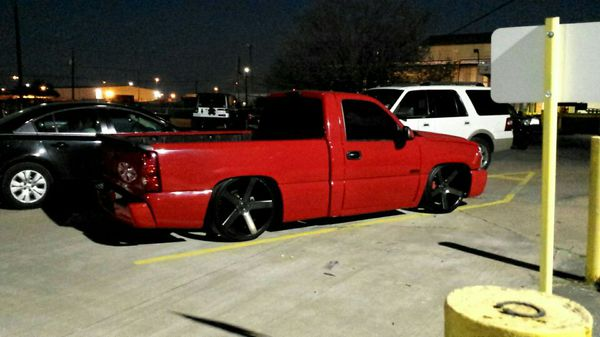 chevy silverado ss clone single cab for sale in humble tx offerup. Black Bedroom Furniture Sets. Home Design Ideas