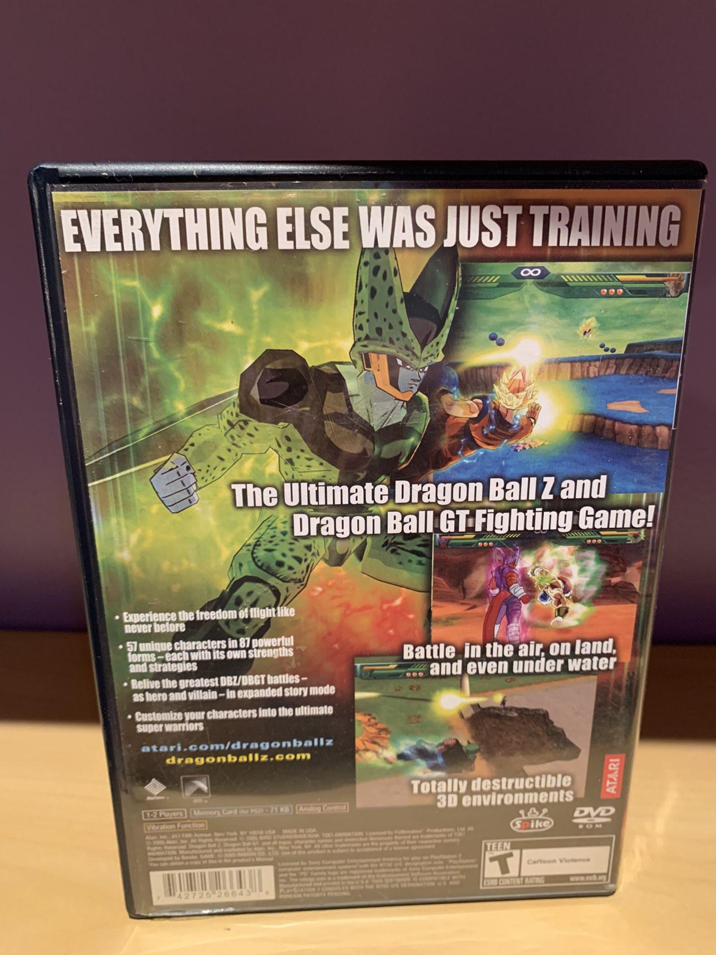 PS2 Dragon Ball Z Budokai Tenkaichi