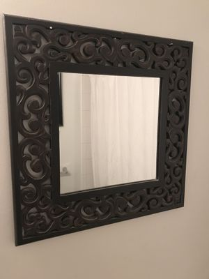 Framed mirror for Sale in Gaithersburg, MD