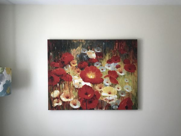 Painting With Poppy Flowers For Sale In Addison Il Offerup