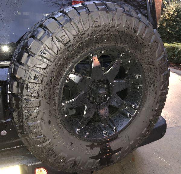 Nitto Ridge Grappler Sizes >> Nitto Ridge Grappler 35x12 50r18 Tires Set Of 5 For Sale