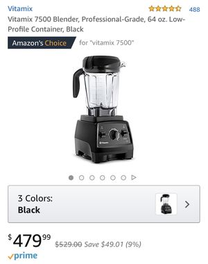 Vitamix 7500 blender for Sale in San Francisco, CA