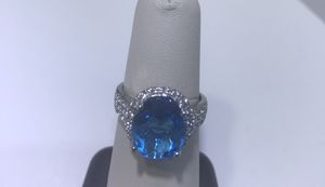 Blue Topaz Ring for Sale in Springfield, VA