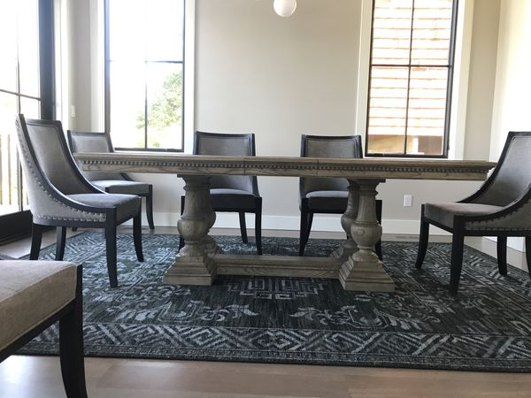 Restoration Hardware St James Extension Dining Table For In Seattle Wa Offerup