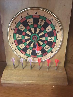 Real Tiny Dart Set/Desk Darts for Sale in Alexandria, VA