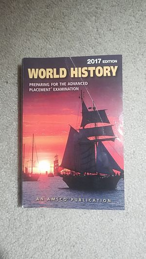 AP World History Book (2017 Edition) for Sale in Fairfax, VA