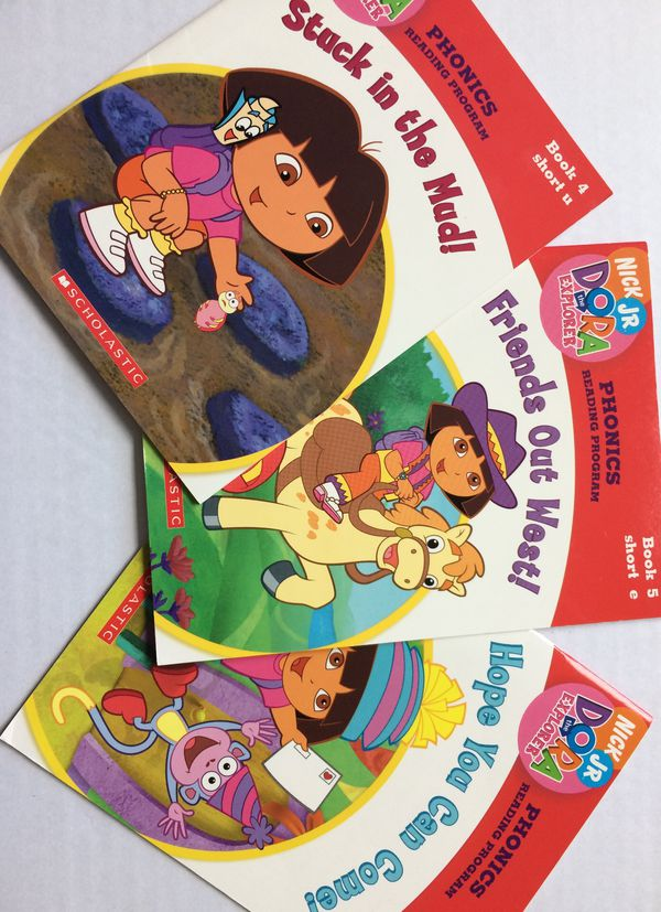 Nick Jr. Dora the Explorer, Phonics Reading Program Books 4, 5, and 6 for  Sale in Orlando, FL - OfferUp
