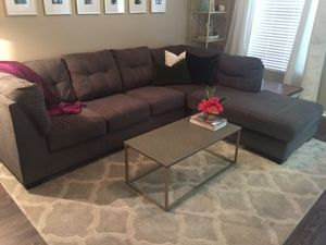 Prime New And Used Grey Sectional For Sale In Austin Tx Offerup Ibusinesslaw Wood Chair Design Ideas Ibusinesslaworg
