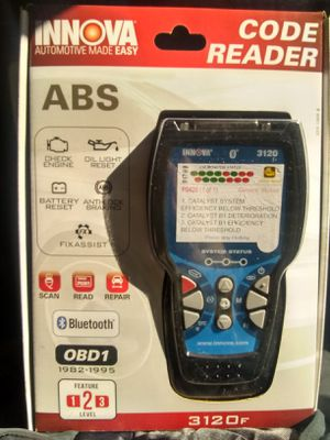 INNOVA ABS OBD 1 BLUETOOTH CODEREADER LEVEL 2 for Sale in