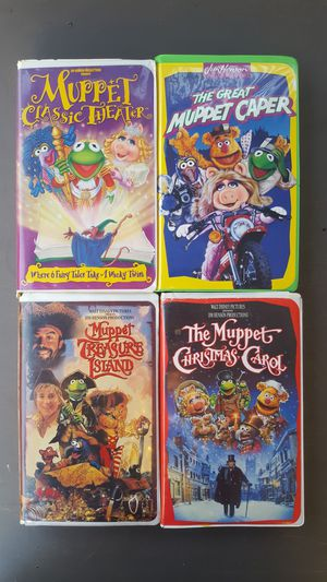 Muppet Christmas Carol Vhs.The Muppets Vhs Movies For Sale In Anaheim Ca Offerup