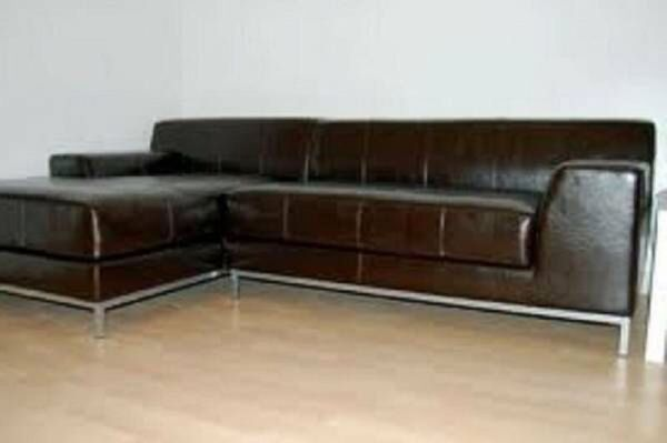 Groovy Kramfors Sectional Chase Leather Sofa Brown Ikea Great Inzonedesignstudio Interior Chair Design Inzonedesignstudiocom