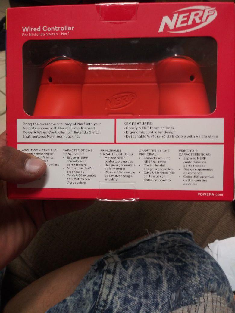 Nintendo switch nerf remote brand new