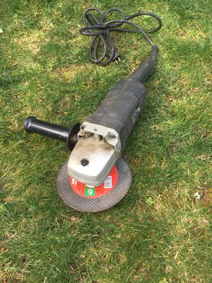 Photo Sears/Craftsman industrial 7-in. Angle Grinder
