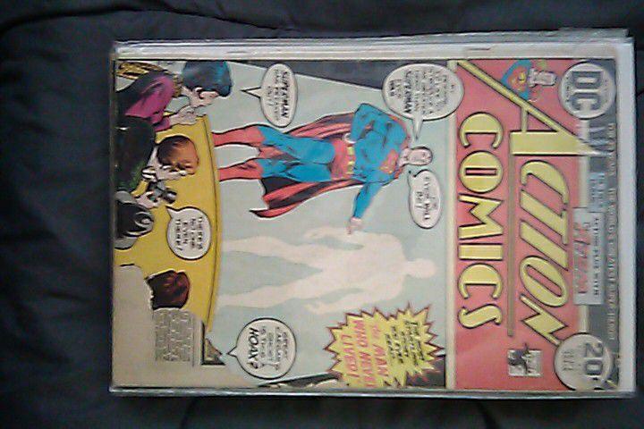Action Comics Superman Vintage 1970's