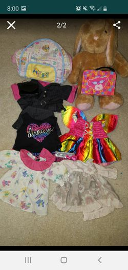 Build-A-Bear Workshop outfits and doll Thumbnail