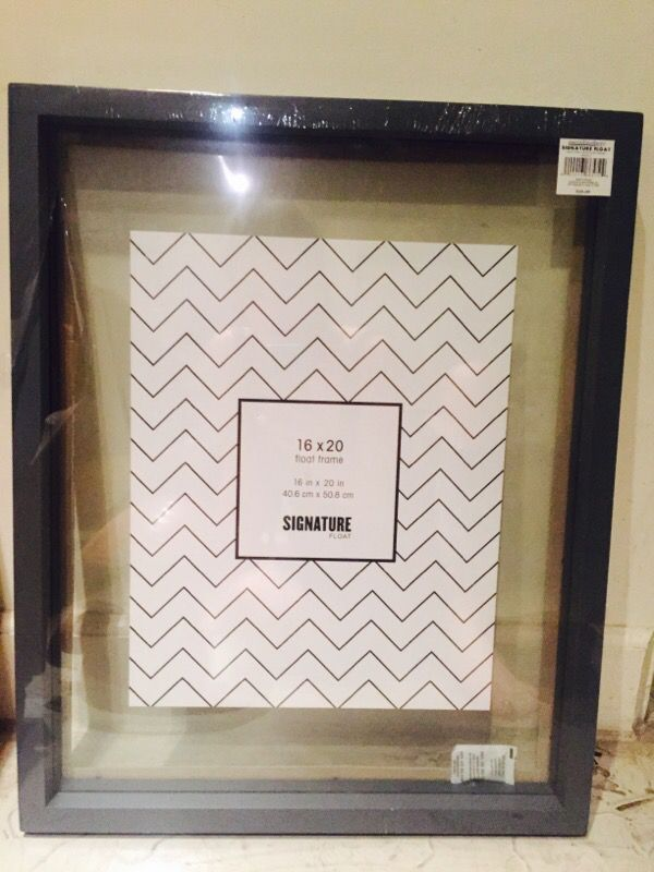 Brand new Aaron Brothers Signature Float Frame (Arts & Crafts) in ...