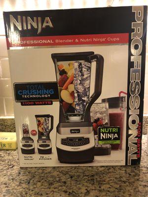 Ninja blender (gently used 1 yr) for Sale in Alexandria, VA