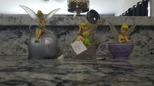 Disney Tinker Bell set of 3 figurine statues for Sale in Orlando, FL