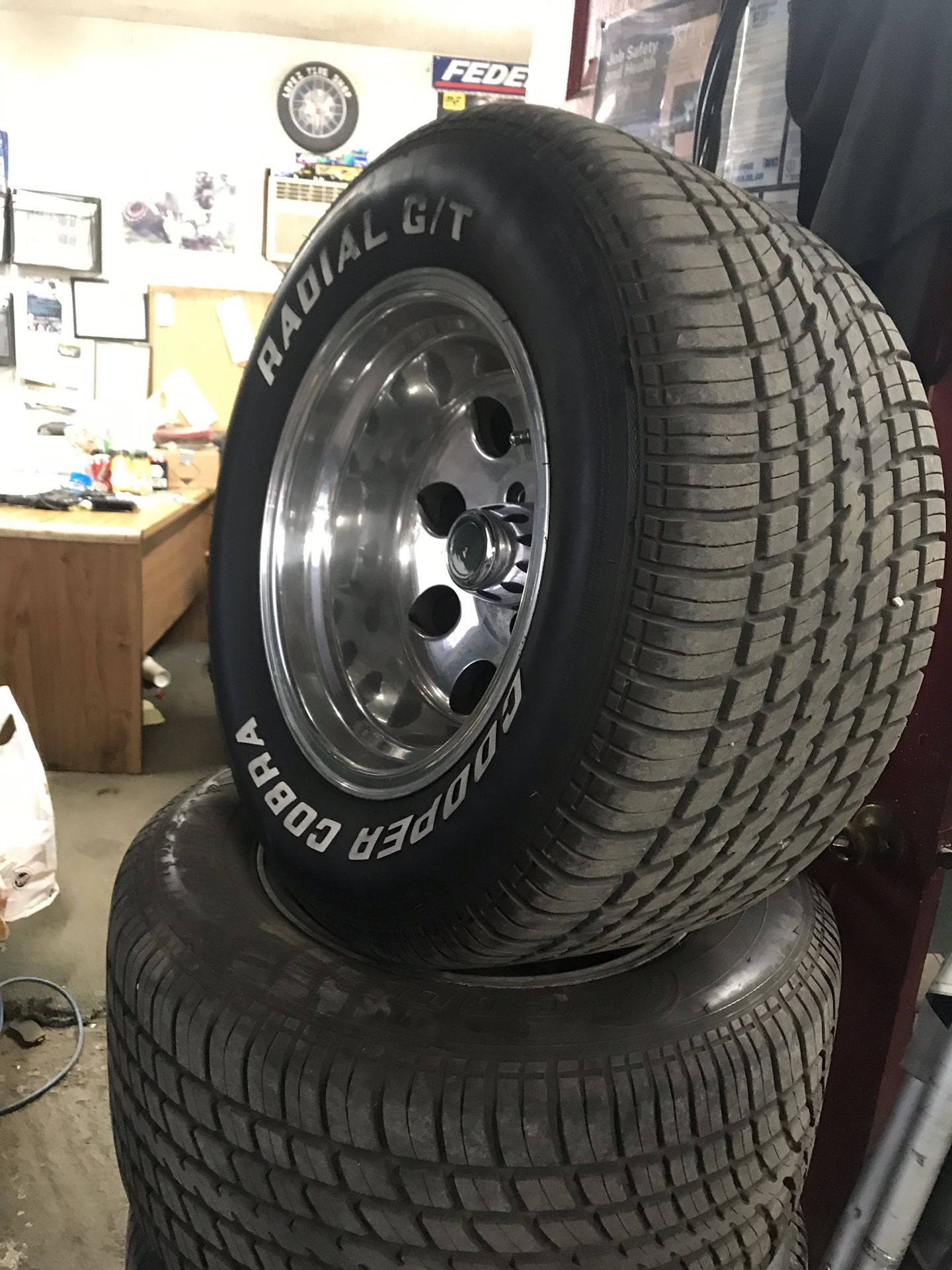 Selling 15x10 inch rims and tire size 295-50-15 $650