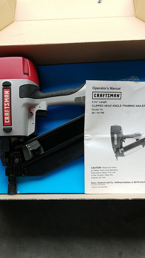 Craftsman Angle Framing Nailer (Tools & Machinery) in Wake Forest ...