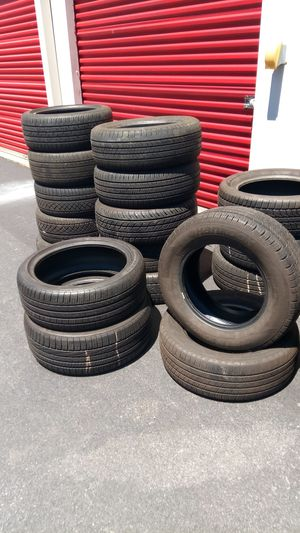 Mix brands used tires for Sale in Gaithersburg, MD