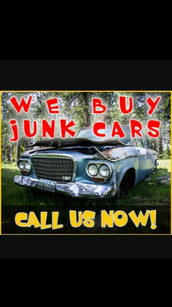 We buy cars any conditions running or not we pay cash on the spot ...