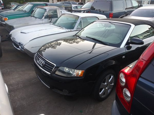 2004 Audi A4 1 8t Convertible For Parts
