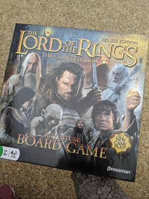 Photo Lord Of the Ring Board Game