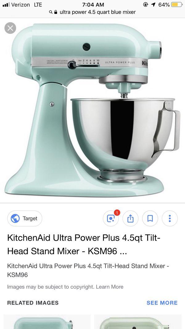 Kitchen Aid Ultra Power Plus 4 5 Qt Tilt Head Stand Mixer For Sale