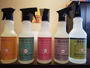 5 Bottles of Mrs. Meyer multi surface cleaner for Sale in Bethesda, MD
