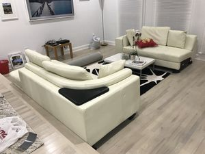 Used white sectional for Sale in Arlington, VA