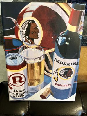 Redskins Mini Canvas for Sale in Arlington, VA