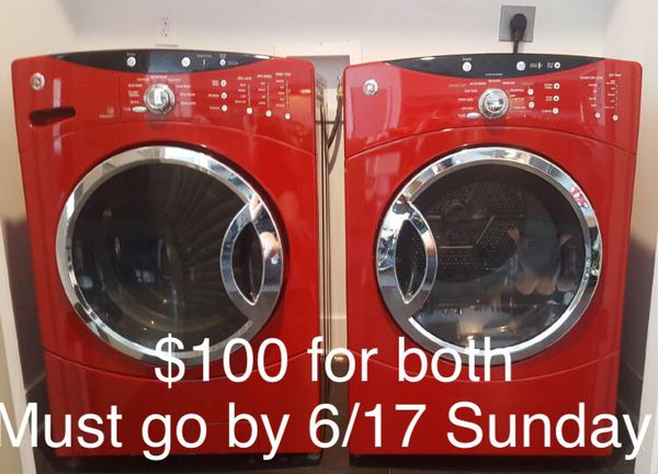 Samsung Washer And Dryer Both Electric 100 For Sale In