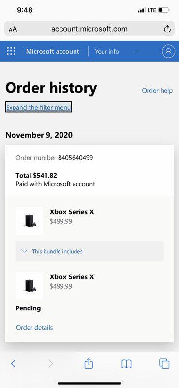 Xbox series X Brand new