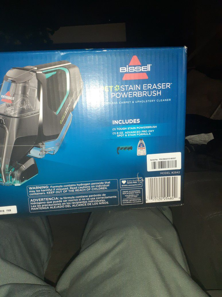 Bissell Pet Stain Eraser Powerbrush