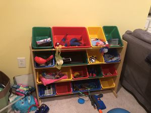 Kids toys storage system for Sale in Bristow, VA