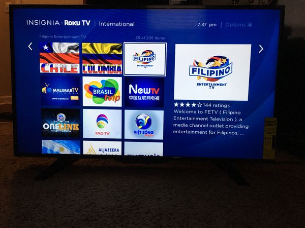 "39"" Insignia ROKU TV for Sale in Columbus, OH - OfferUp"