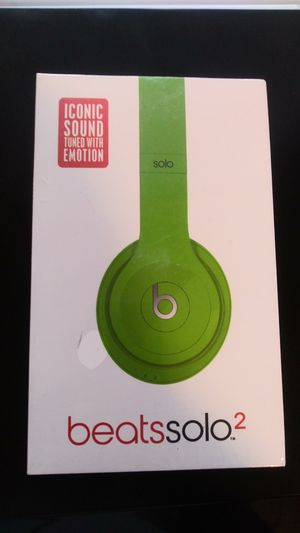 Beats solo 2 for Sale in Baltimore, MD