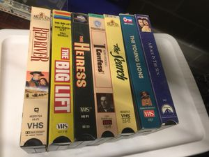 7 VHS COLLECTION OF MONTGOMERY CLIFT MOVIES for Sale in Seattle, WA
