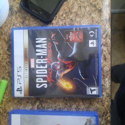 Ps5 Games Spider-Man  2k21 Call Of Duty Cold War Thumbnail