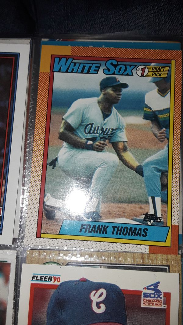 Baseball Cards Frank Thomas Topps Rookie For Sale In Woodland Ca Offerup