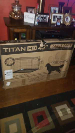 Titan Large Dog Crate for Sale in Washington, DC