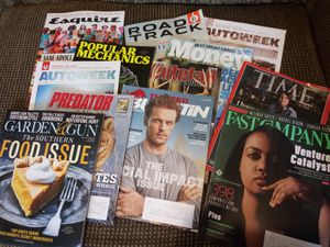 12 magazines great for men for Sale in Madison Heights, VA