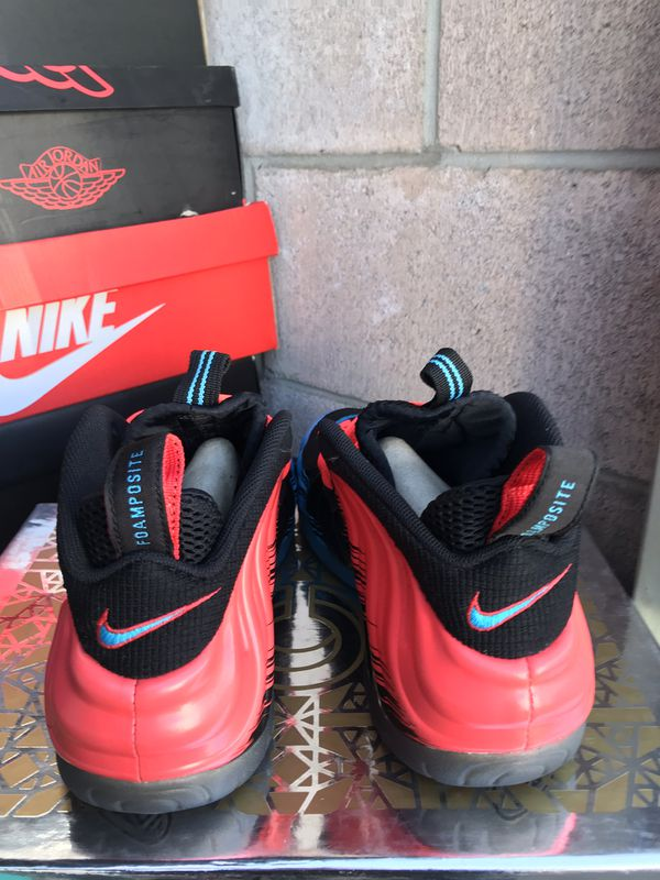 83ae40c352d Spider man Nike foamposites size 9 very good condition  200 for Sale ...