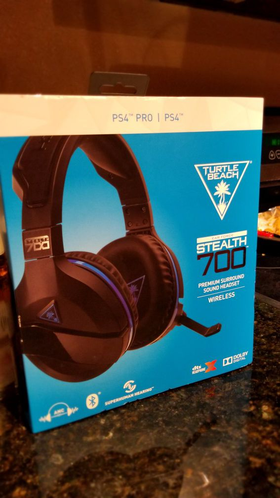 b4102fdec91 Turtle Beach Stealth 700 headset PS4 Playstation 4 for Sale in ...