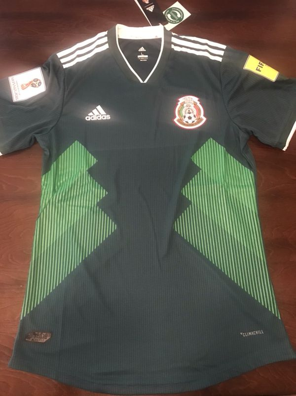 detailing 7a10a 83f5d Adidas Mexico Soccer Home Green Men Jersey Size S, M, L & XL NWT Includes  world Cup 2018 Patches RUNS SMALL for Sale in San Mateo, CA - OfferUp